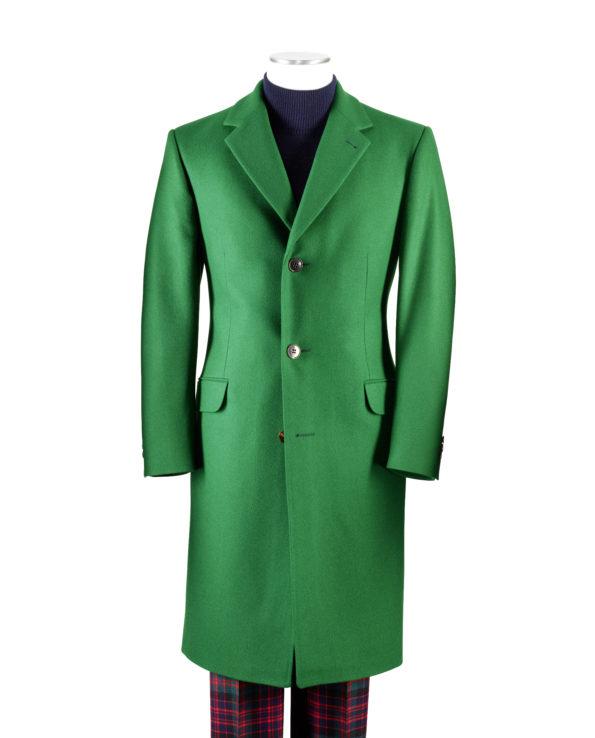 Mantel SYLVESTER Loden grün